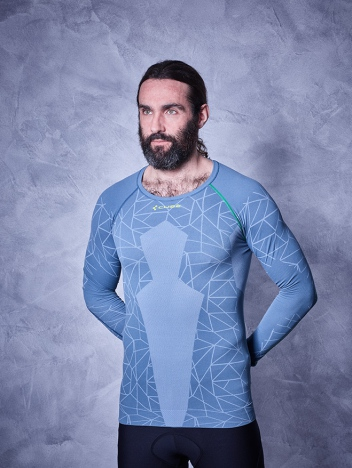 CUBE Baselayer Race Be Cool L/S
