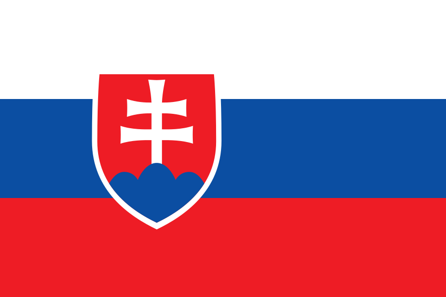 Flag of Slovakian language